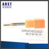 Utensili per il taglio di CNC del metallo della mano del laminatoio di estremità del carburo di tungsteno HRC60
