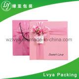 Caixas de presente de papel personalizadas estilo aninhadas parte alta da tampa e da parte inferior