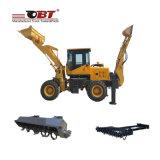 Schwerer Aufbau-Maschinerie-Löffelbagger-Ladevorrichtung Qingdao-Obt für heißen Verkauf