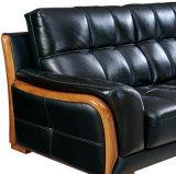 Sofá do couro da tecla da venda por atacado do preço de fábrica para a mobília Home (8057)