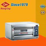 Forno elettrico caldo di cottura di prezzi di vendite di Hongling 1-Deck 2-Tray