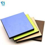 Populares colores modernos laminado hpl compacto para wc armario mesa