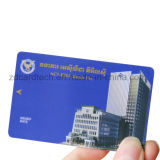 Double fréquence UHF de type 2 NFC & EPC Gen2 em4423 Carte RFID hybride