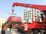 Camion di caricamento di Sinotruk montato con 14 il camion piano di trasporto della gru 8X4 di T