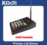 Система беспроволочного Paging Pager трактира 999 каналов Queuing вызывая