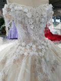 肩のスライバまたは象牙の結婚式の夜会服を離れたAoliweiya 2018年