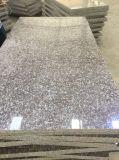 Polier-/natürliche rosafarbene Fliese des Granit-G664 für Fußboden/Countertop
