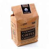 Ecológica Café personalizados de papel Kraft bolsas con válvula