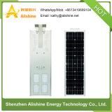 luz de calle solar del brillo de 60W LED con diseño todo junto