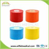 100% coton Bande élastique athlétique Sport Kinésiologie ISO Ce FDA