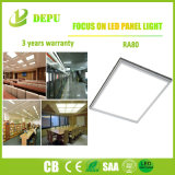 Marco plateado blanco/Panel de LED Luz Buen Material con alta eficiencia 40W 120lm/W con EMC+LVD