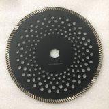 lame de découpage de Turbo de diamant de 125mm pour le granit et le marbre