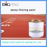 Peinture de plancher du gymnase de l'époxy revêtement de sol de base