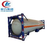 tanque do recipiente da capacidade de carregamento 50cbm de 40ft LPG