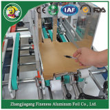 2018 Automatic Good Quality Aluminum Foil Packing Machine for Corrugated Box, Color Box