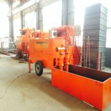 Pompe concrète hydraulique de Roofling de bâti de construction en béton de mousse