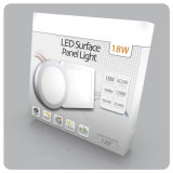 Luminosità ultraelevata 6W, 12W, 18W, indicatore luminoso di comitato montato di superficie di 24W LED