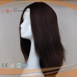 Perruque ondulée de femmes de dessus de peau de cheveux humains (PPG-l-0309)