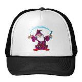 Espuma y media gorra de béisbol del acoplamiento con insignia impresa