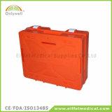 Коробка скорой помощи DIN13169 фабрики рабочего места медицинская непредвиденный