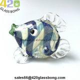 """3.5 """" unbesonnene GlasDicho Engels-Fische Handpipe für Tabak-Kräuterrauch 420"""