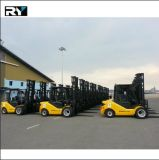 De hydraulische Vorkheftruck van de Dieselmotor Transmisson 4.0t