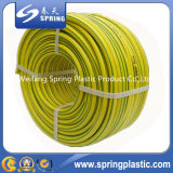 10mm multi Farben-nicht Geruch-optische Fiber umsponnener Belüftung-Garten-Wasser-Schlauch/Rohr