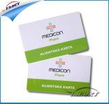 Impressão frente e verso Irregulares 2 em 1 Cartão de PVC
