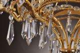 Los nuevos candelabros de cristal con tela Lampshades