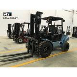 4WD 2.5 Tonnen-raues Gelände-Dieselgabelstapler