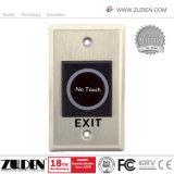 Controle de acesso autônomo impermeável da porta do metal