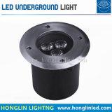 6W RGB LED Luz Jardim de metro exterior do piso