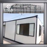 Estrutura de aço Personalizado de instalação rápida de aço leve Casa modular para o depósito