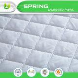 Cubierta de colchón bacteriana anti de bambú impermeable del pesebre de Terry