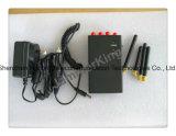 Cámara Inalámbrica Portátil Jammer Bloqueo para 2G/3G, teléfonos móviles y WiFi/Bluetooth, Alarma, Jammer celular Jammer, WiFi, GPS, GSM Jammer