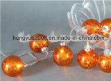 Navidad bola de cristal de alta calidad de luz para decoración de Navidad