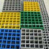 GRP râpant d'anti grilles de fibre de verre de corrosion pour l'usine Using