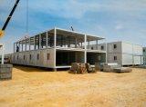 Maison détachable préfabriquée de conteneur, Chambre portative modulaire à vendre, seule maison de Portable de modèle