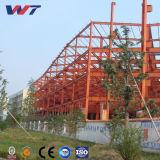 Structure en acier préfabriqués pour la fabrication de plastique de l'atelier