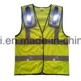 Vêtements de sûreté avec l'éclairage LED