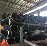 Reg del tubo de acero negro para materiales de construcción