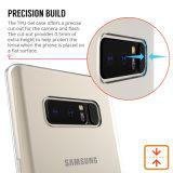 Аргументы за телефона крышка телефона задней части геля примечания 8 TPU галактики Samsung