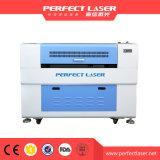 Вырезывание лазера Acrylic СО2 деревянное и гравировальный станок Pedk-9060
