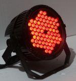 72PCS x 3Wの高い発電RGB屋外LEDの同価IP65段階LEDの同価の照明をつけることができる