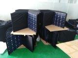 La norma ISO 160 W Sunpower Flexible plegable elástico suave Teléfono Móvil solar portátil cargador Power Panel Bag Pack