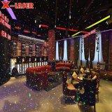 Iluminação Laser Star para piscina em decoração de interiores