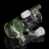 Collettore di vetro di vetro della cenere del tubo di acqua con il favo verde Perc