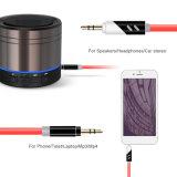 고품질은 각을 180 정도 회전하는 편리한 싼 TPE 3.5mm 오디오 케이블 도매한다