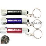 Linterna brillante modificada para requisitos particulares Keychain del LED