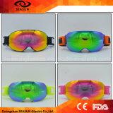 Hersteller-kundenspezifischer Firmenzeichen-Ski-Brücke-Schutzbrille-Winter-Eis-Eislaufenschnee-Schutzbrille
